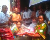 Distribution Of Blankets On The Occasion Of HH chinna jeeyar Thirunakshatram Vikasa Tarangini