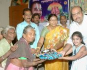 Vikasa tarangini Distributed Clothes To The Poor People