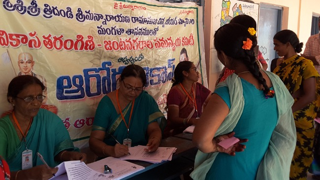Another splendid turn out for the Women Health Care camp in twin cities
