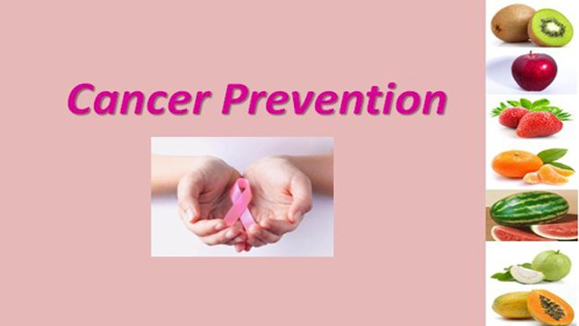 Cancer can be prevented by eating Fruits