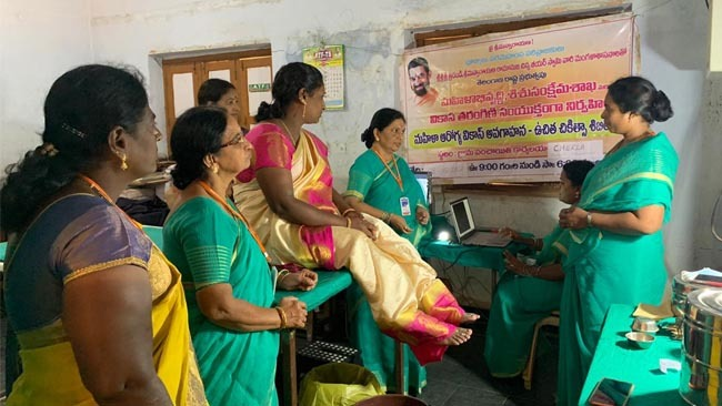 Mahilaarogya Vikas conducted Medical Camp at Bhadrachalam
