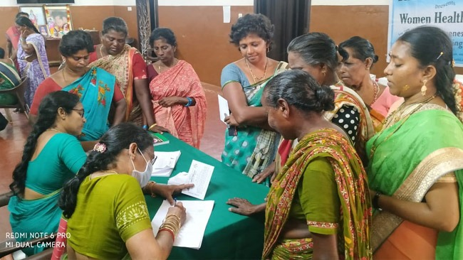 Mahilaarogya Vikas conducted Medical Camp at Koduru