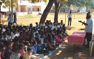 Prajna Program at Ekalavya High School and Govt Girijana Ashrama School